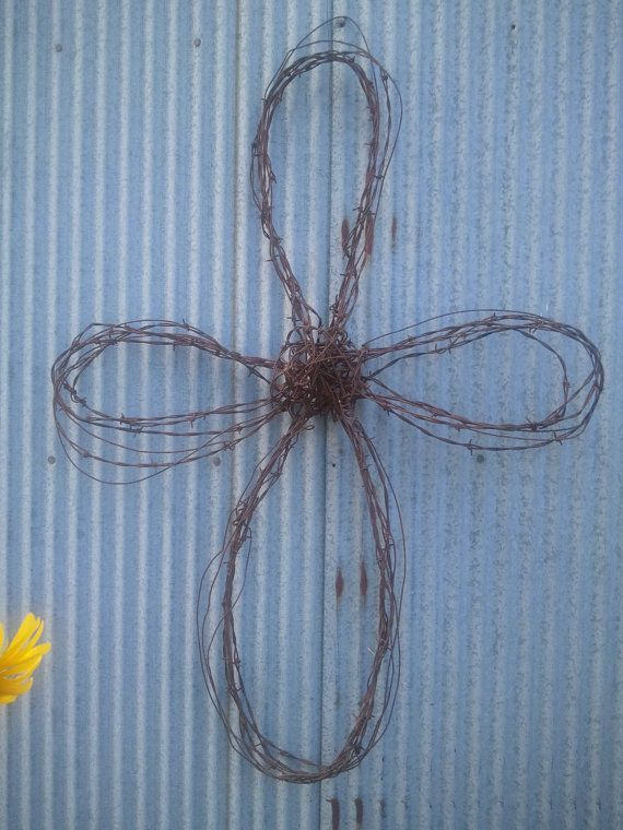 36 best barbed wire images on Pinterest | Barb wire crafts, Barbed ...
