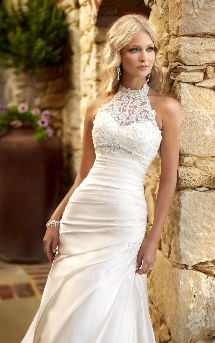 Beautiful Lace Wedding Dresses  Wedding blog  Pinterest  Wedding