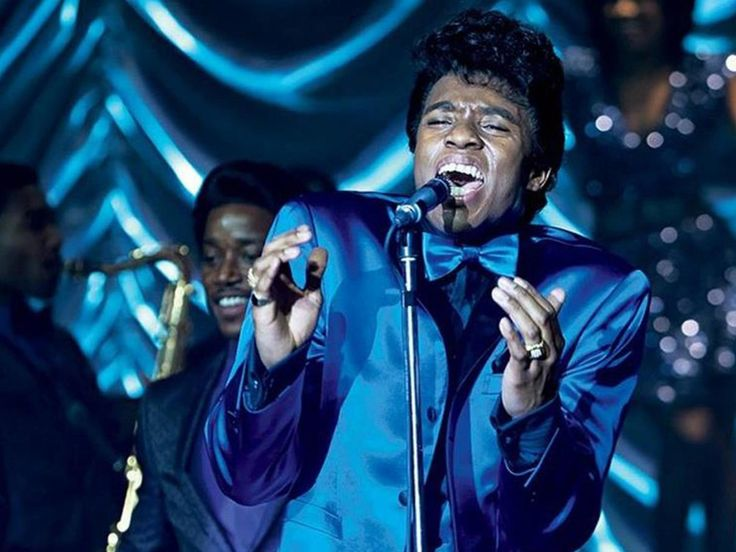 Chadwick Boseman as James Brown.