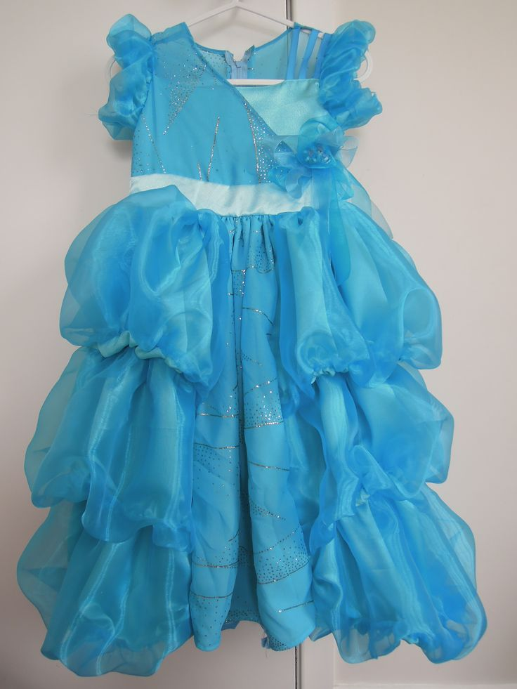 Beautiful blue bubble dress for my niece