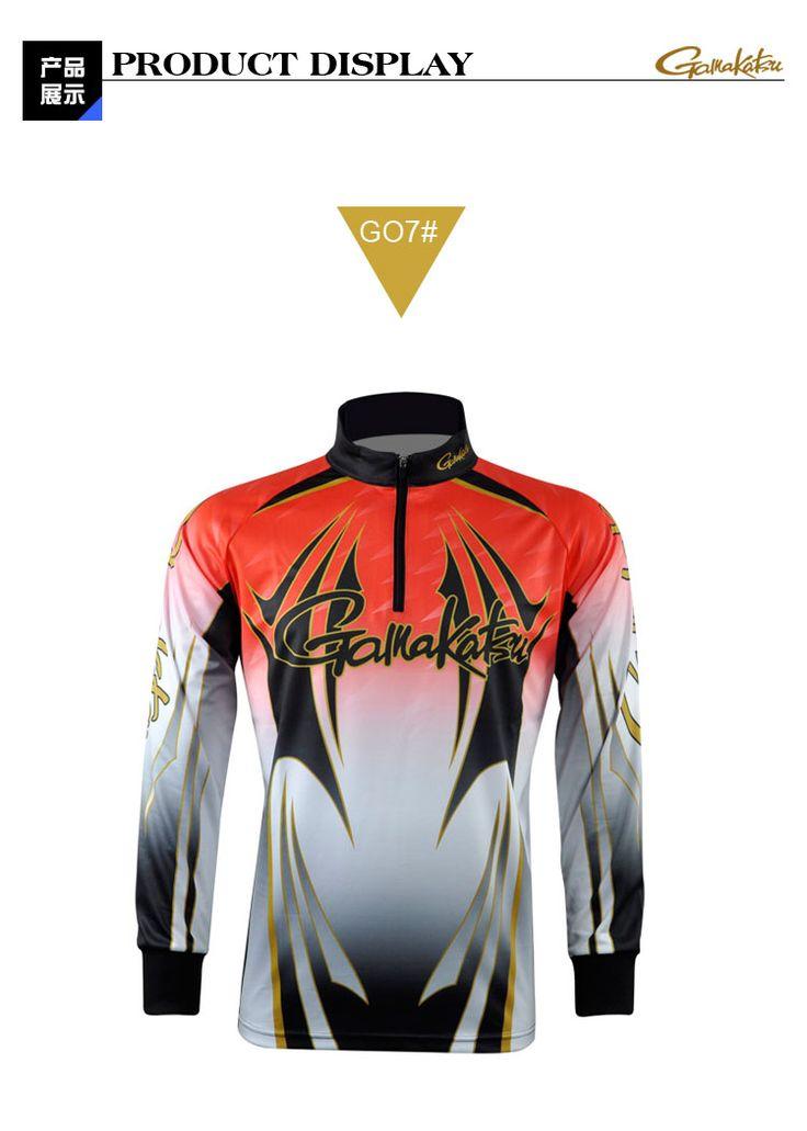 Дешевые Gamakatsu / Gamakatsu рыбалка одежда одежда УФ солнцезащитный крем дышащая быстросохнущая верхняя одежда - Taobao
