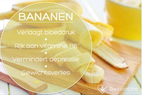 Ken jij de voordelen al van bananen? #fact