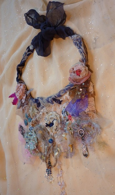 shabby necklace