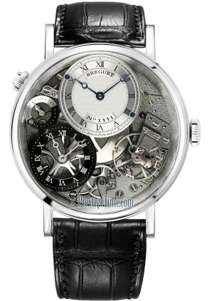 Breguet Tradition GMT Manual Wind 40mm Mens Watch
