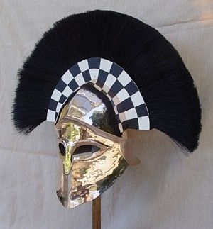 Corinthian Helmet - transverse crest
