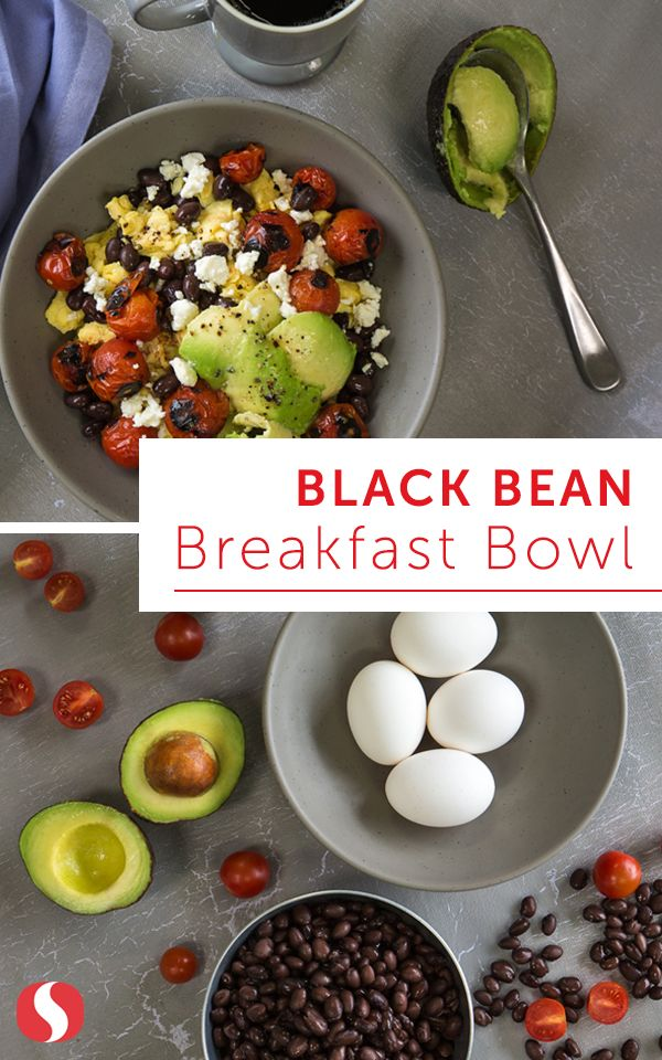 Fuel up with this quick and easy breakfast loaded with protein and flavor from layers of black beans, scrambled eggs, avocado, and salsa. Start your morning off the right way and try this must-make recipe today!