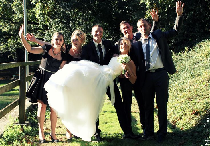 love wedding - best men & maids of honor