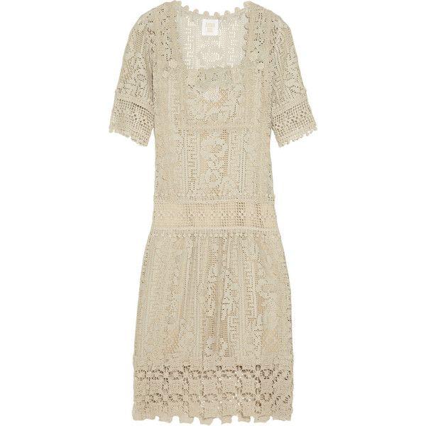 Anna Sui Crocheted lace dress found on PolyvoreBohemian Thread, Wanna Copy, Sui Crochet, Crochet Lace, Lace Accent, Dresses 278, Lace Dresses, Eclectic Mixed, Anna Sui