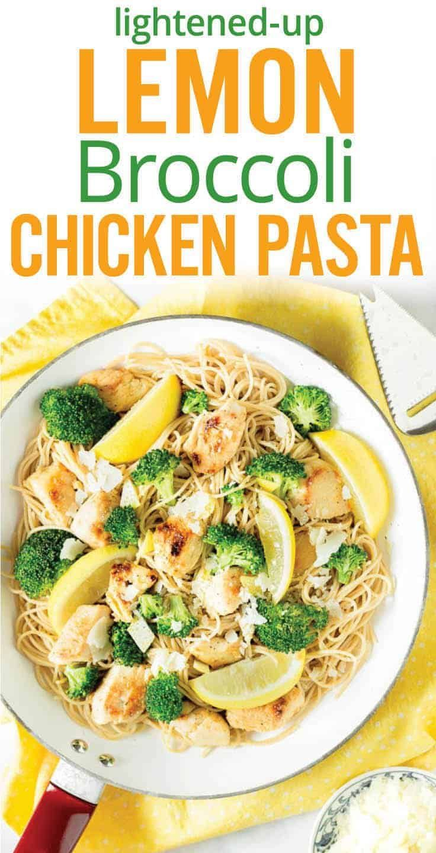 Zitronenhühnerteigwaren mit Brokkoli   – Plating Pixels Blog Recipes – #Blog #B…
