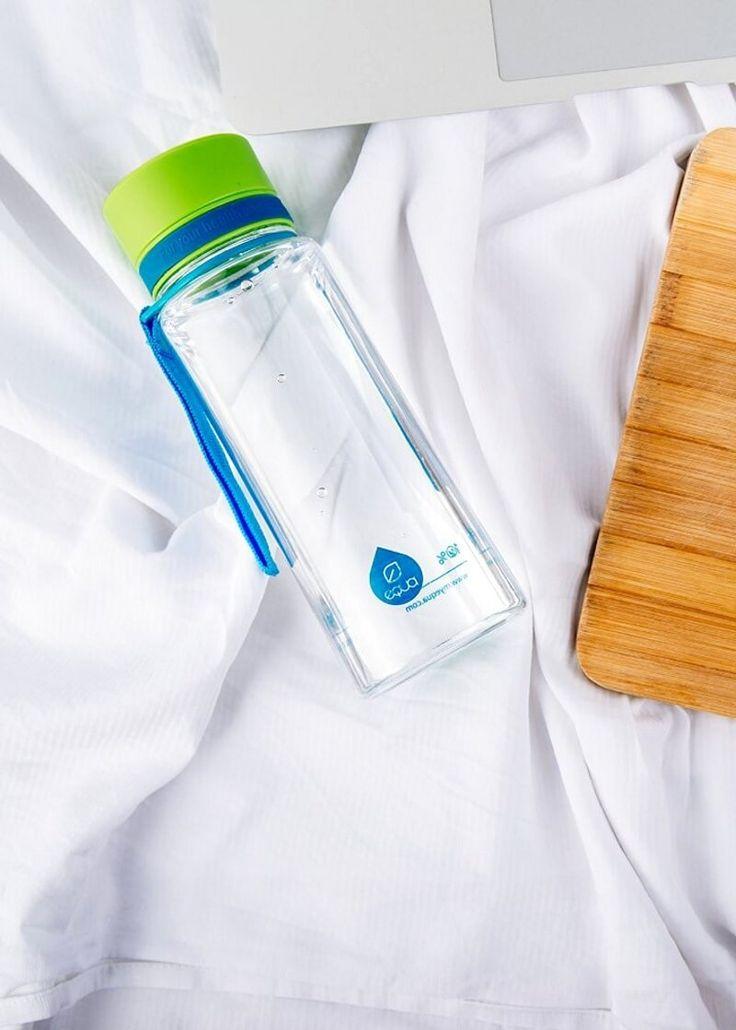Zdravá fľaša Equa Green-Blue 600ml - Equa fľaše 600ml - Tritánové zdravé fľaše - Eko fľaše | SolarBunny.eu