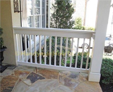 2x6 Porch Rail Construction: DIY