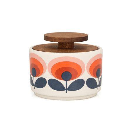 Orla Kiely - '70s Flower Sugar Bowl