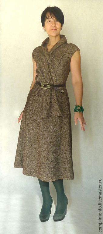 Платье с английским воротником купить