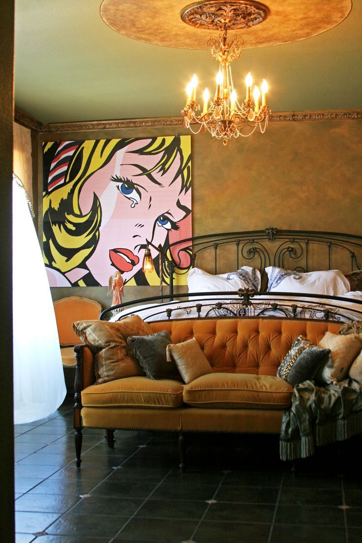 260 best pop art interior design images on pinterest art - Roy lichtenstein obras ...