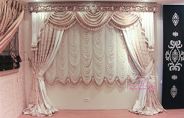 أحدث أنواع ستائر سيدار The Latest Of Cedar Blinds قصر الديكور Curtain Inspiration Elegant Curtains Headboard Curtains