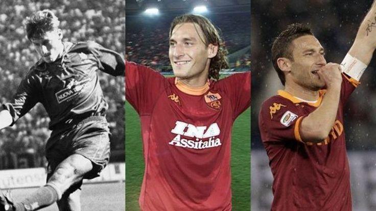 Roma, Totti Story: 300 gol e 21 anni in giallorosso