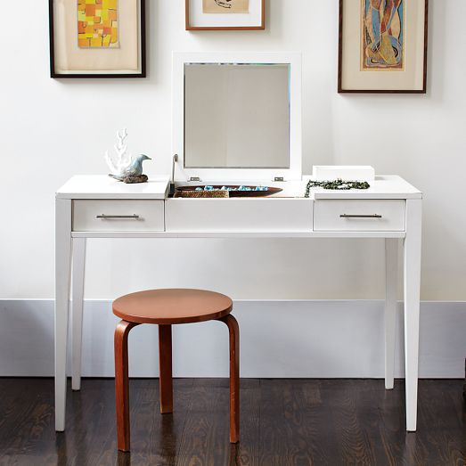 West Elm Narrow Leg Vanity On Sale For The Home