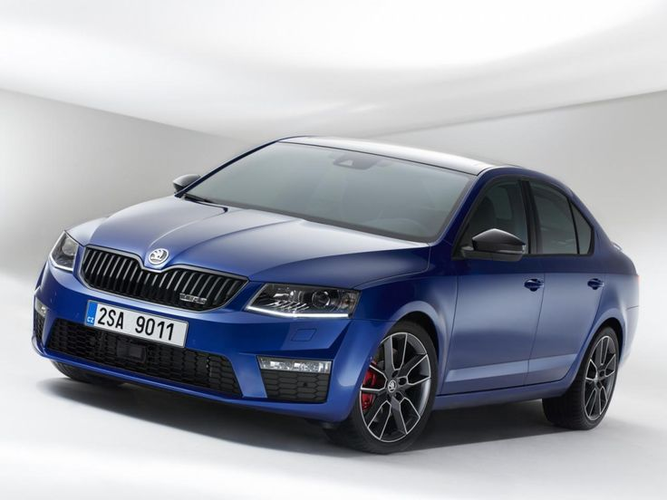 #Skoda #OCTAVIA RS blue 2015