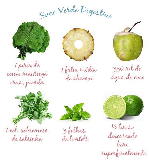 Suco Verde Digestivo