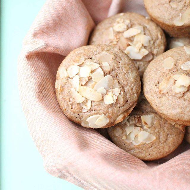 Apple Buckwheat Muffins .... Gluten, dairy, nut and refined sugar free!