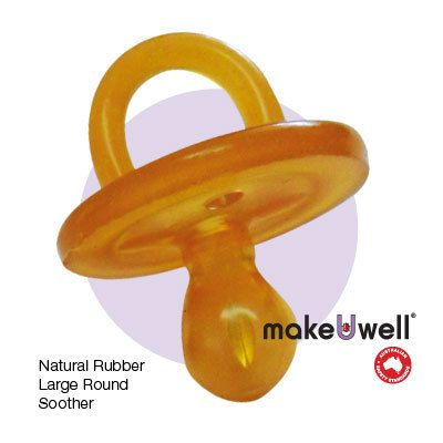 ECOshop Online Store - Make U Well - Rubber Dummies and Teethers