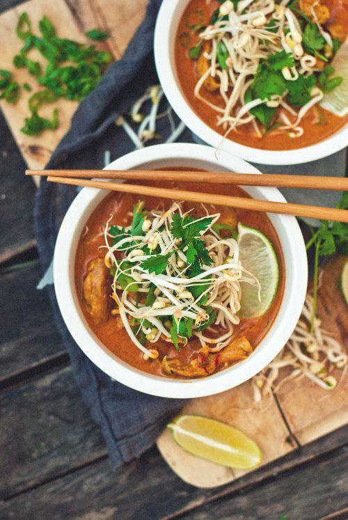 Turkey Khao Soi/Northern Thai Turkey Curry