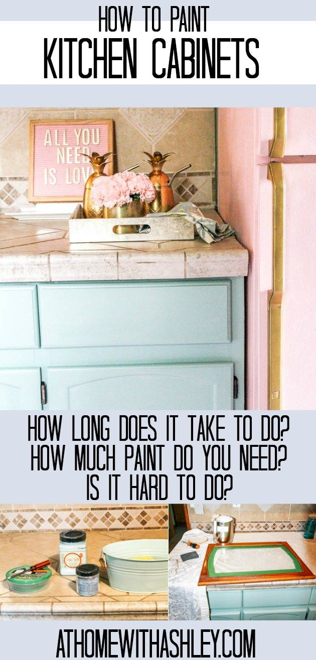 How to paint kitchen cabinets a step by step guide with chalk paint how to paint kitchen cabinets a step by step guide with chalk paint this diy tutorial shows you how to paint without sanding and still have it lo solutioingenieria Image collections