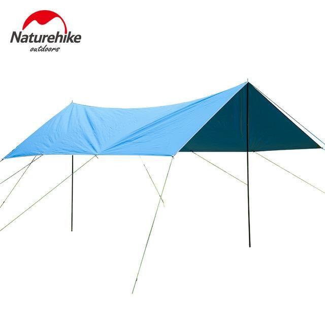 Naturehike Sun Shelter Uv Poles Waterproof Awning Beach Tent Shade Tarp Pergola Camping Picnic Sunshade Gazebo