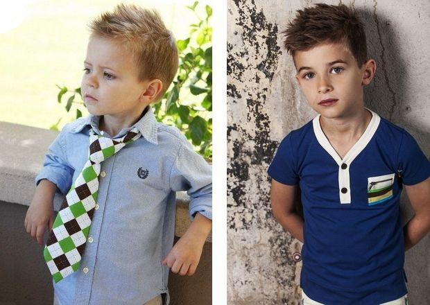 модные детские стрижки для мальчиков фото