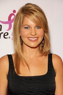 Candace Cameron Bure...I love her bold stance for Christ. She is beautiful on the inside and out.