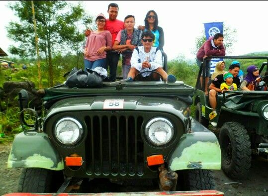Old jeep #merapi