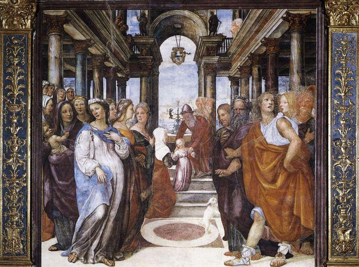 Sodoma - The Presentation of the Virgin in the Temple - WGA21559 - Oratorio della Compagnia di San Bernardino - Wikipedia