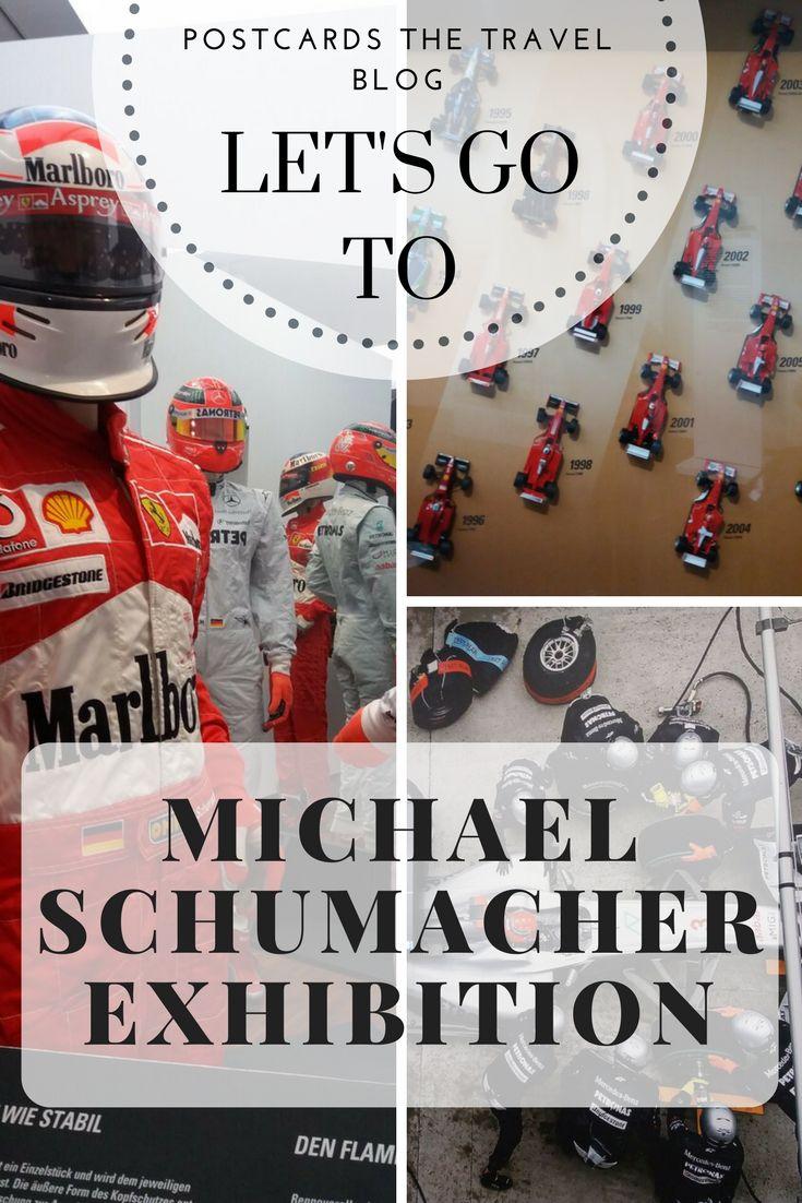 Michael Schumacher Exhibition in Marburg an der Lahn, Germany