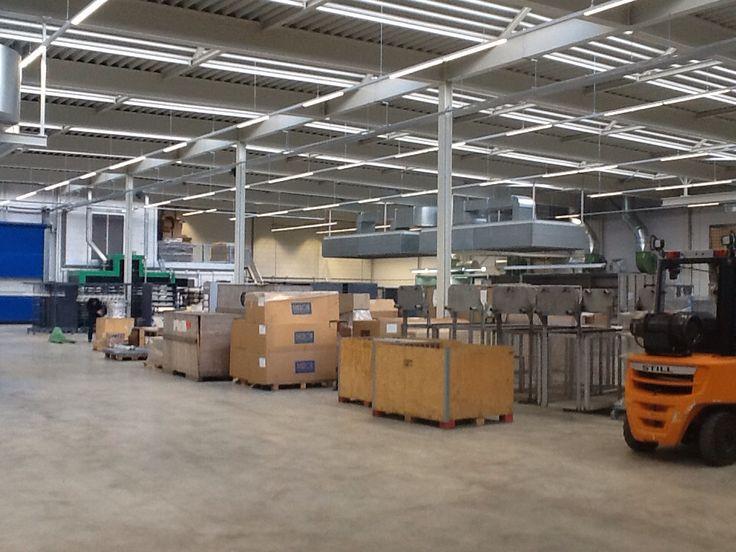 Maxos LED Veco Westerhoven productiehal