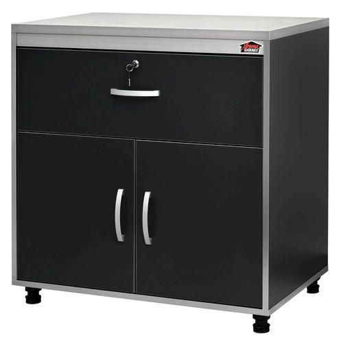 Xtreme Garage Base Cabinet With Laminate Top  Home