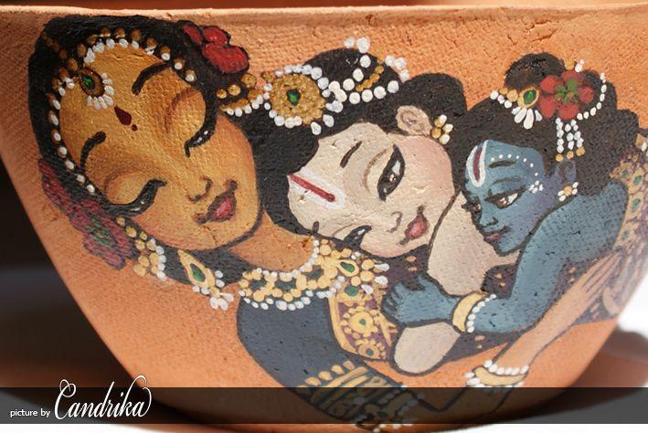 PANIHATI pot - Yasioda with Krishna and Balaram by candrika108 on DeviantArt