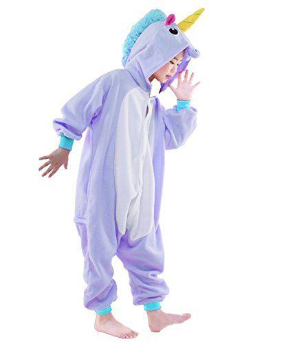60ed204582df Newcosplay Homewear Childrens Unicorn Pajamas Sleeping Wear Animal ...
