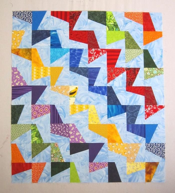 Tilted Modern Quilt ... by Elena McDowell | Quilting Pattern - Looking for your next project? You're going to love Tilted Modern Quilt Pattern by designer Elena McDowell. - via @Craftsy