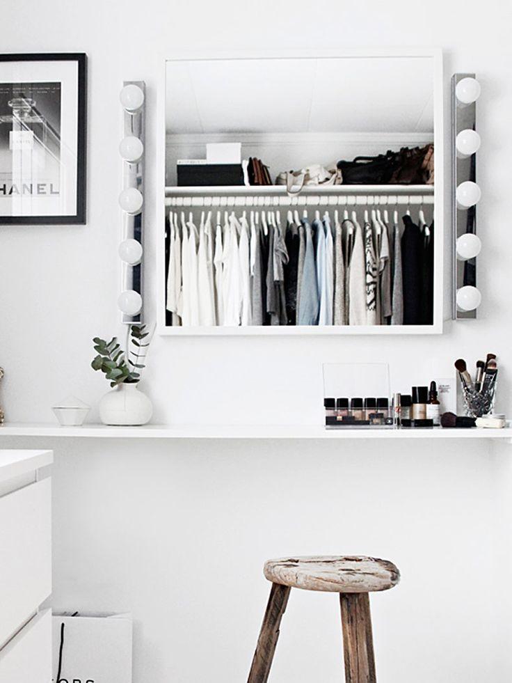 Under våren har jag dykt på de här fina och inspirerande walk-in-closet bilderna lite varstans. Inlägget hör hemma hos den duktiga norska bloggerskan Nina Holst som driver inredningsbloggen STYLIZIMO.