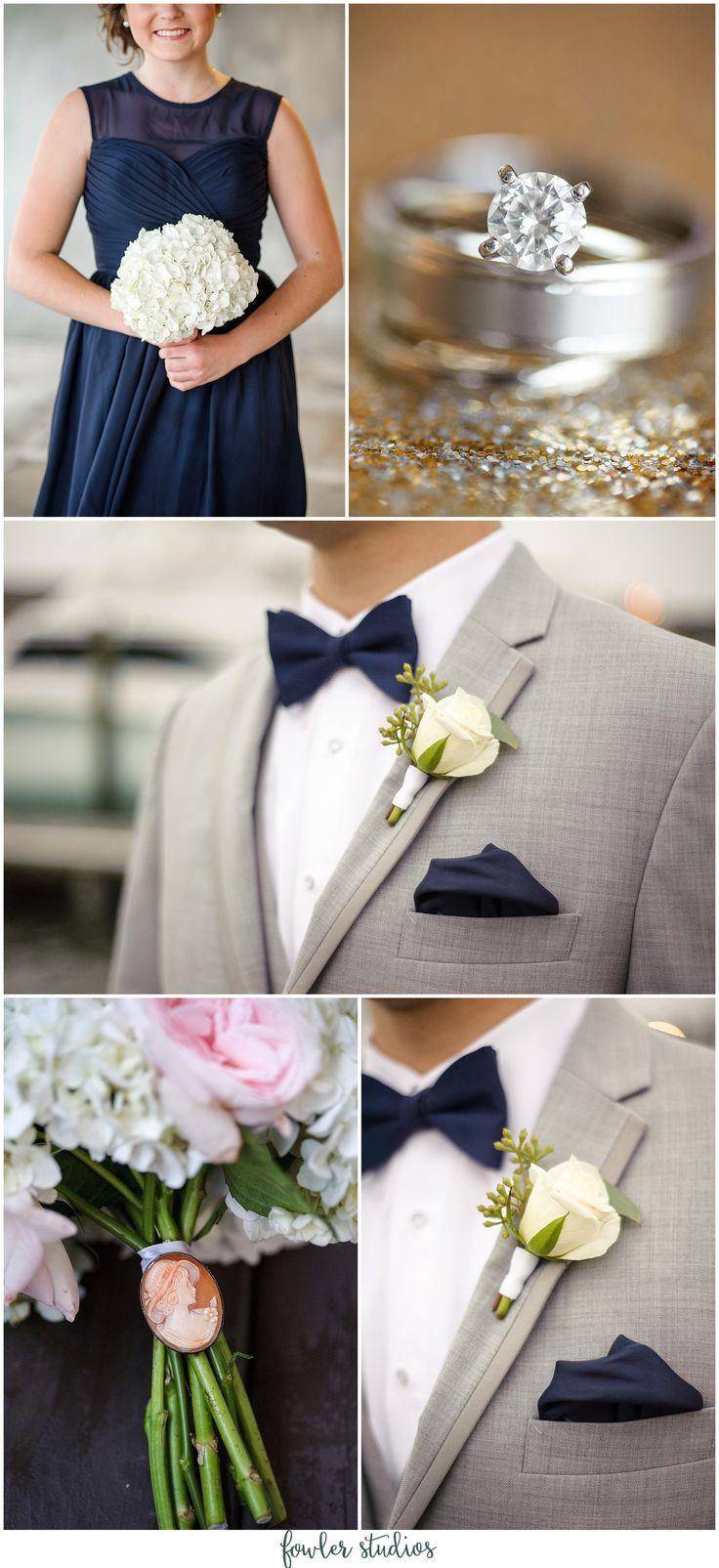 Navy + Blush Wedding at The Water Table | Chelsea + David | Virginia Beach Wedding Photographer » Fowler Studios