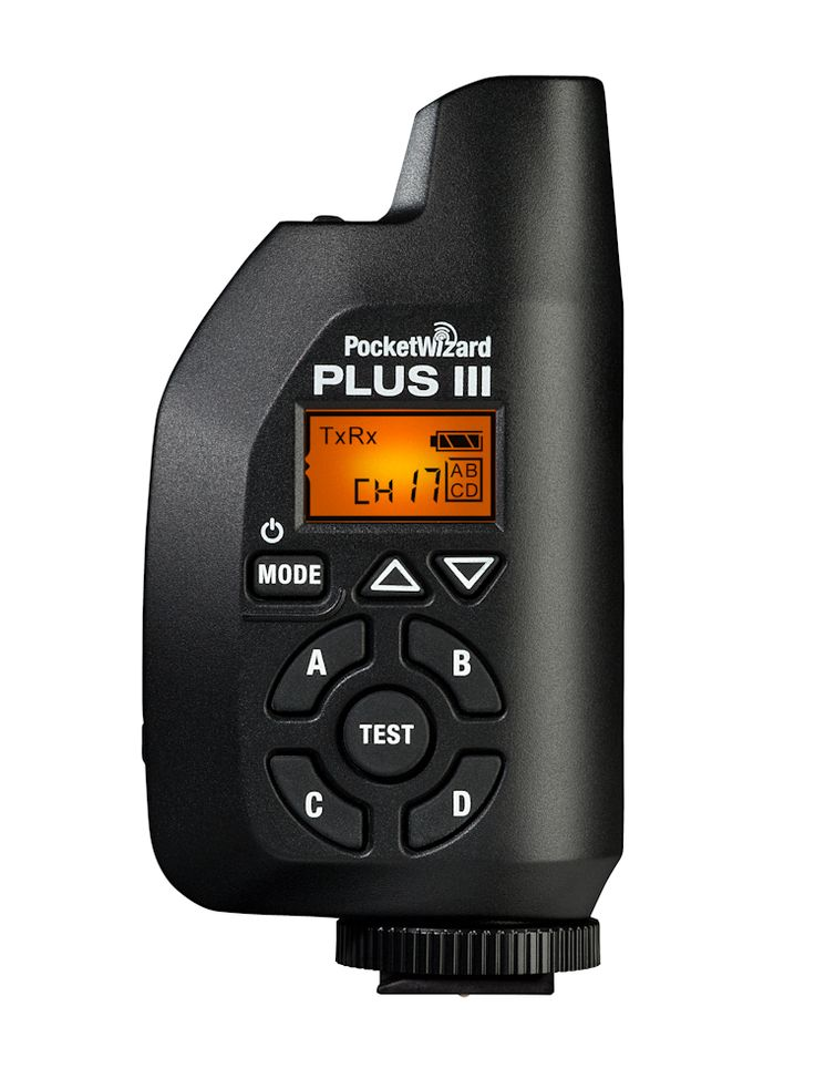 The PocketWizard Plus III Transceiver is the most reliable, feature-packed, easy-to-use solution for remote flash and camera triggering available.
