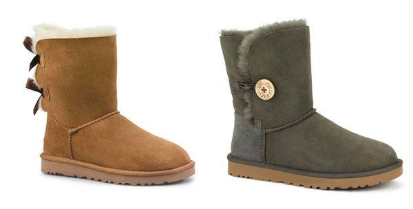Ugg Australia presenta i nuovi modelli Bailey Bow per l'inverno delle bimbe