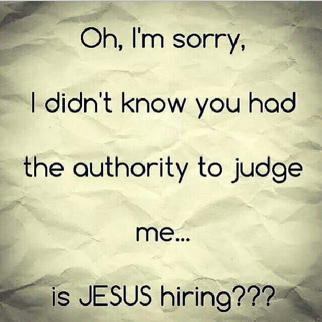 60 Quotes: Jesus On Judging Others Quotes. QuotesGram