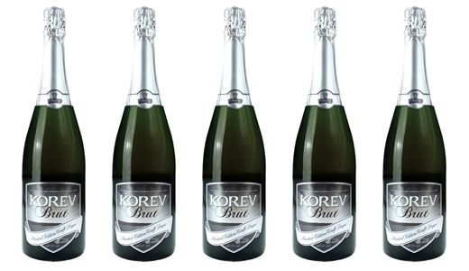 Korev Lager gets the Champagne treatment at Camel Valley