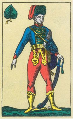 Unger playing-card