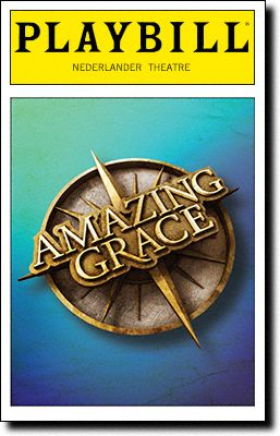Amazing Grace musical playbill!