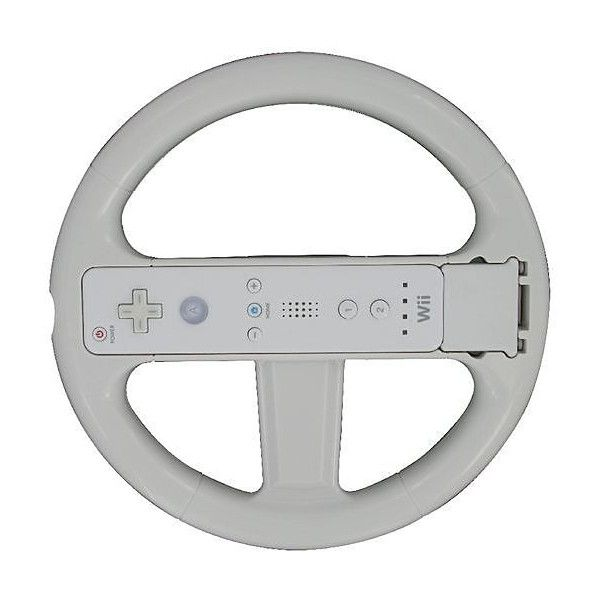 Exspect Wii Motion Race Wheel (39 SEK) ❤ liked on Polyvore featuring electronics, clearanceelectricalsgaming and game
