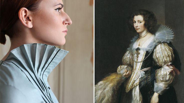 #history #costume #mode #art #painting