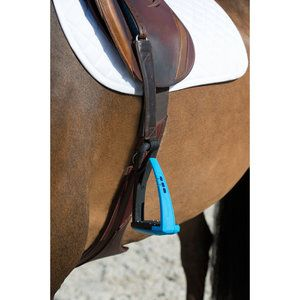 If you want top-of-the-line technology, FreeJump Soft'Up Pro Stirrups are the way to go. These English stirrups are extremely lightweight yet sturdy. Very popular in show jumping, these stirrups come in a range of colors and hang with special stirrup leathers.