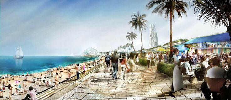 Beach Promenade bit.ly/1p8FPei #Hellinikon_Project